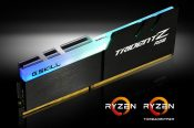 G.SKILL Trident Z RGB DDR4 Kits Now Compatible with AMD