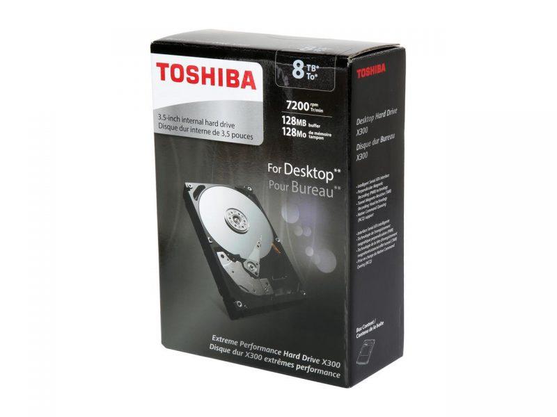 Toshiba Announces 8TB X300 High-Performance HDD