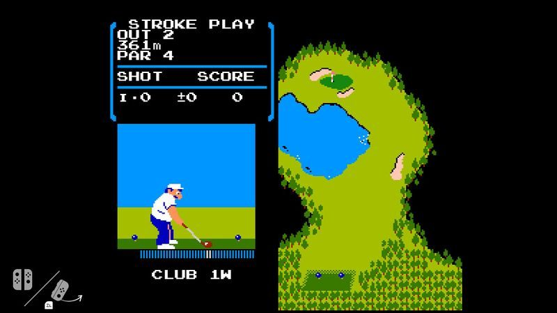 There is a Hidden NES Golf Game on Every Nintendo Switch