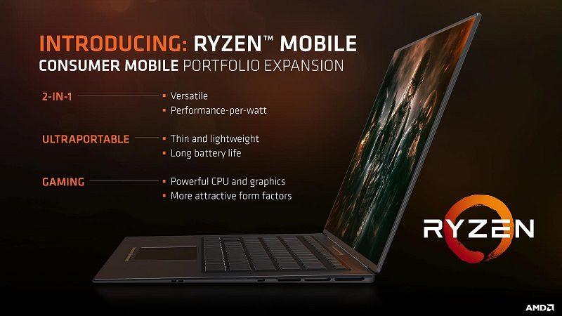 AMD Raven Ridge Ryzen Zen Vega