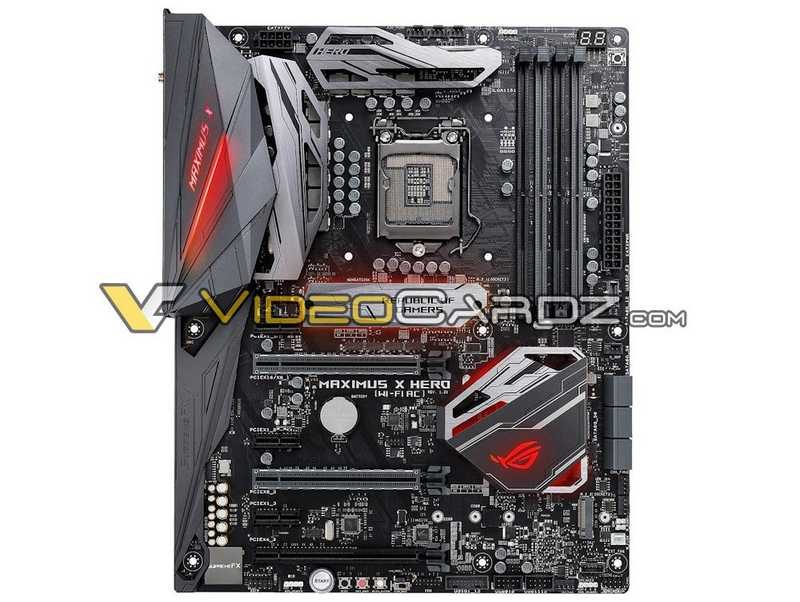 Photos of ASUS Z370 Motherboard Line Leaked