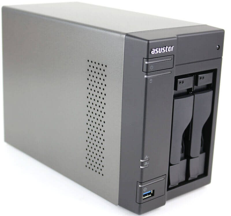 ASUSTOR AS6302T Photo view front angle left