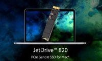 Transcend JetDrive 820 Mac SSD