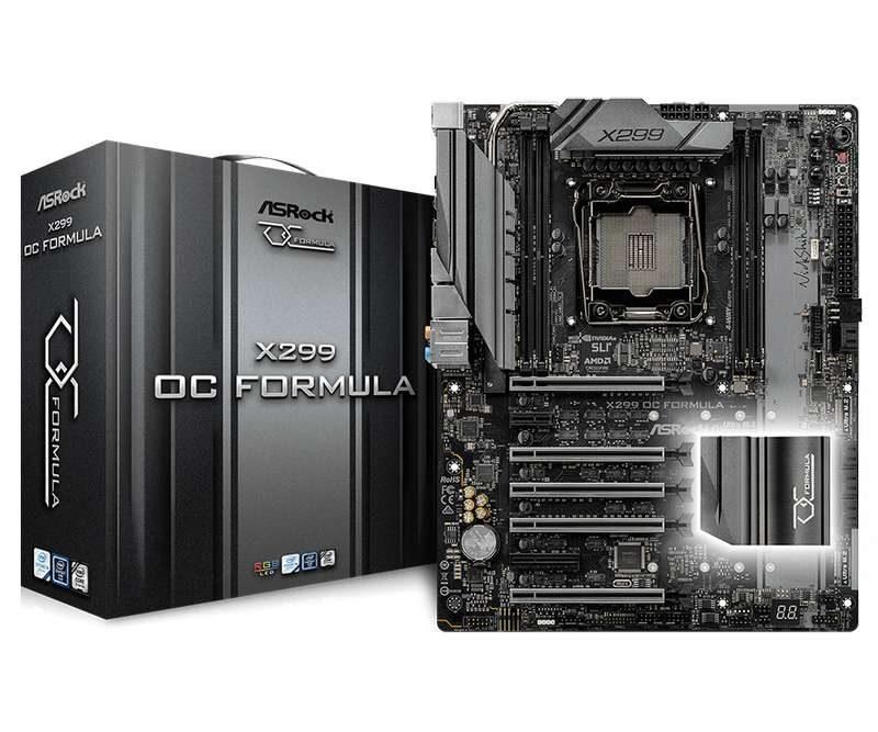 ASRock Announces X299 OC Formula Motherboard