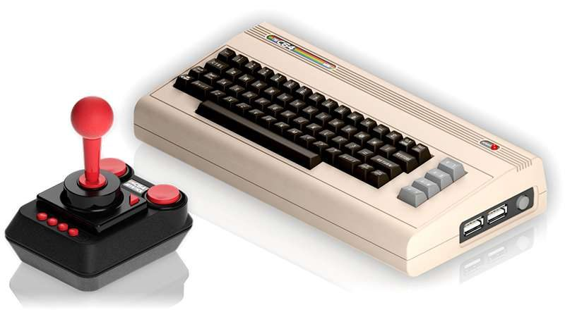 Commodore64 Joins Retro-Gaming Revival with C64 Mini