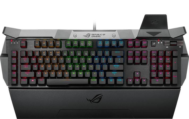 ASUS Releases RGB Version of RoG Horus GK2000 Keyboard