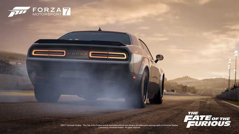 Forza Motorsport 7 Has A Fate of The Furious DLC Car Pack