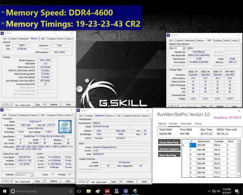 G.SKILL Adds 4600MHz CL19 Kits to Trident Z Series