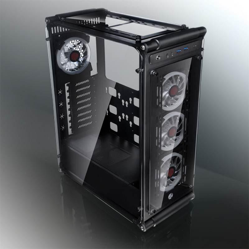 Raijintek Introduces Coeus Evo Tempered Glass Case