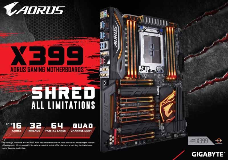 Gigabyte Aorus X399 Gaming 7 Threadripper Motherboard Review