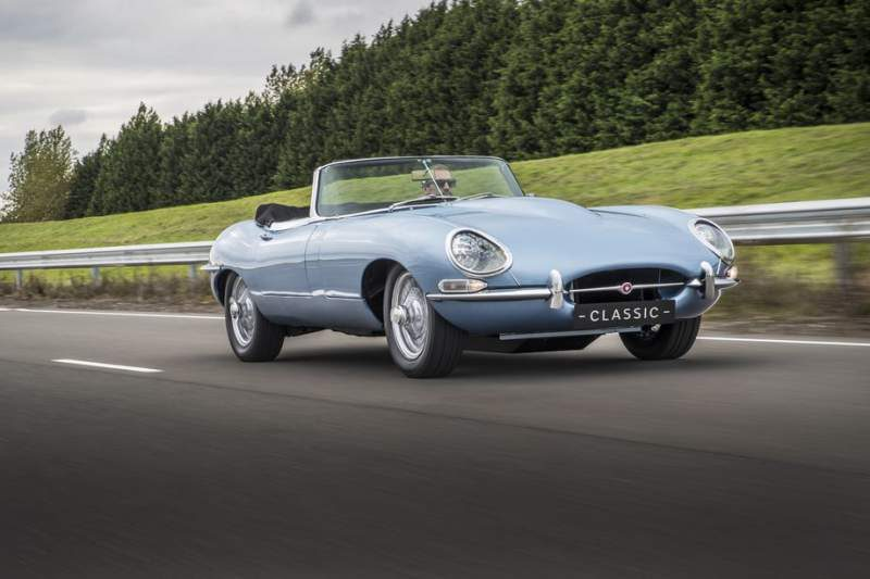 Jaguar Introduces E-Type Zero Classically-Styled All-Electric Car