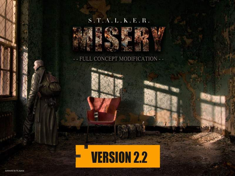 S.T.A.L.K.E.R. Call of Pripyat Misery Mod 2.2 Released