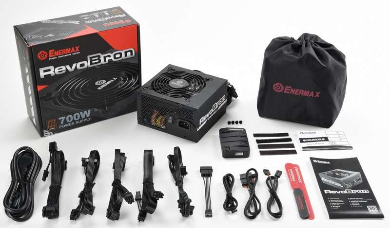 Enermax Introduces RevoBron 80-Plus Bronze PSU Series