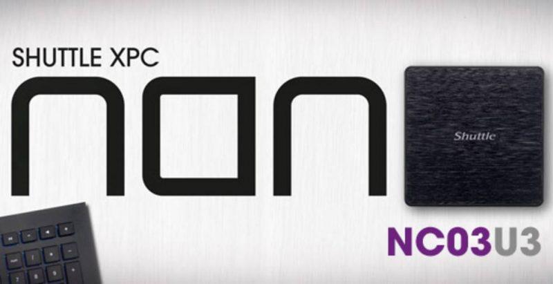 Shuttle XPC Nano NC03U3 Core i3 PC Review