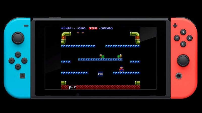 Nintendo Releasing Classic Arcade Games to Switch