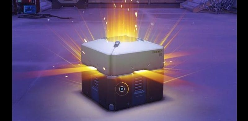 loot box crate