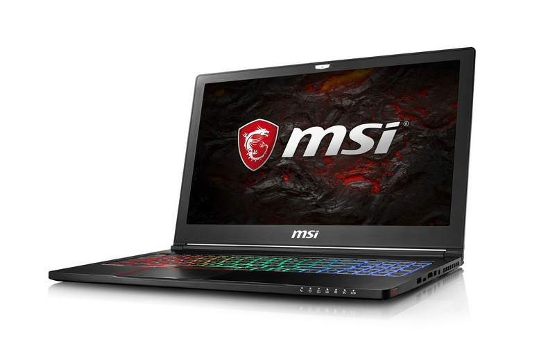 MSI Introduces GS63 Stealth Laptop with GTX1050 GPU