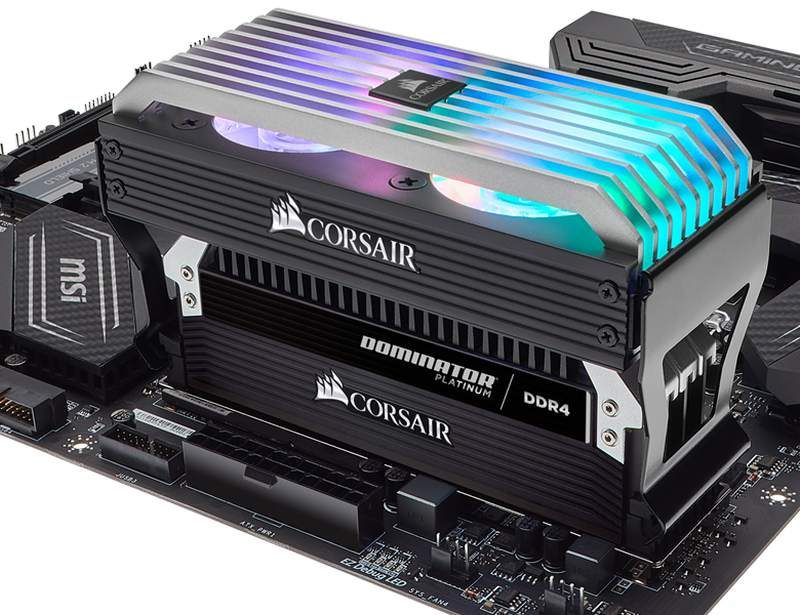 Corsair Dominator Airflow Platinum RGB Fans Now Available