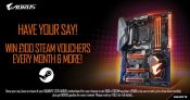 GIGABYTE UK Giving Away Steam Vouchers for User Reviews