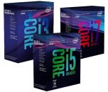 Intel Coffe Lake 8th Gen Core CPU Retail Packages
