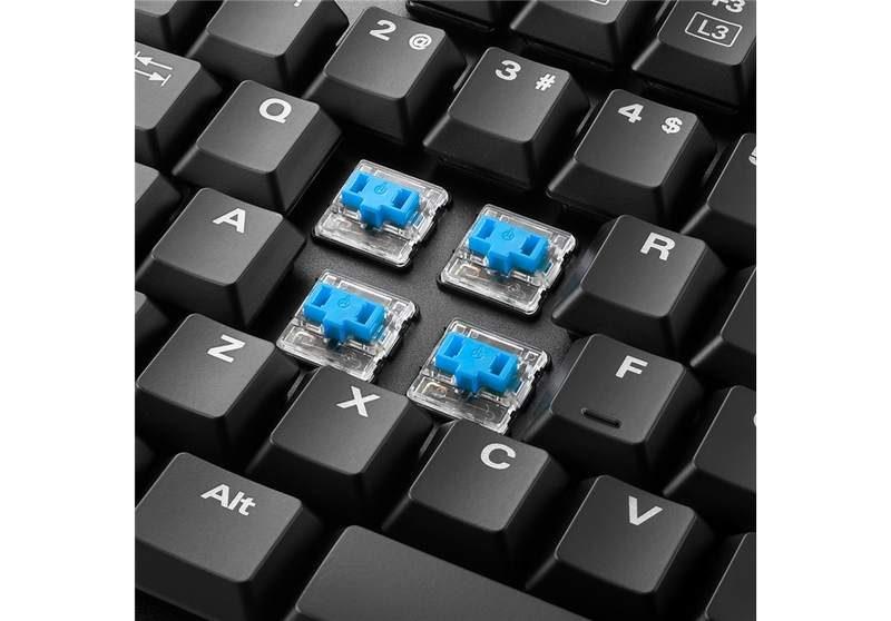 Sharkoon Released 104-Key PureWriter Low-Profile Keyboard
