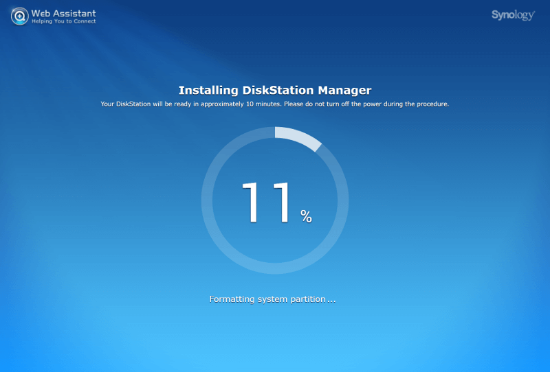 Synology NAS SS Init 3