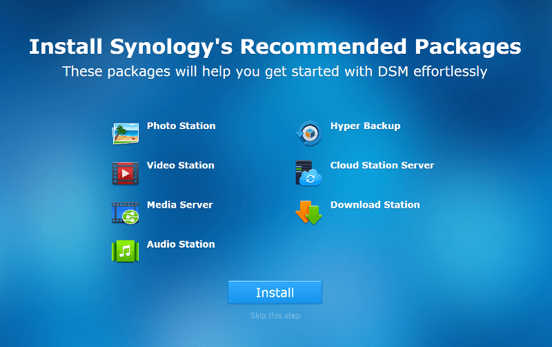 Synology NAS SS Init 8