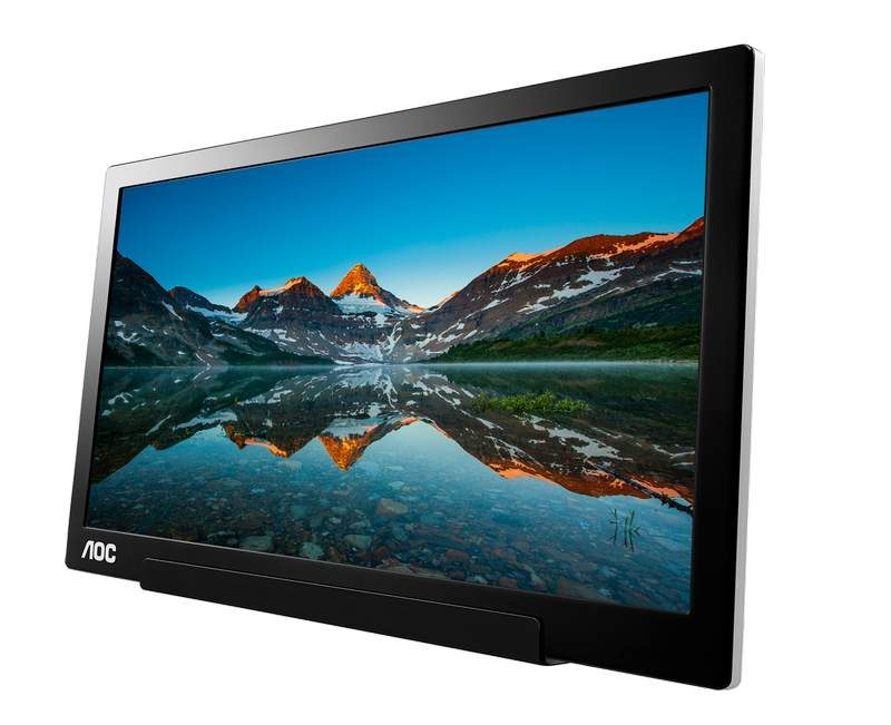 AOC Announces I1601FWUX 16-inch USB-C Monitor