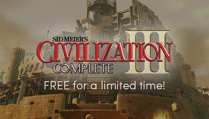 Civilization III FREE from Humble Bundle for a Limited Time