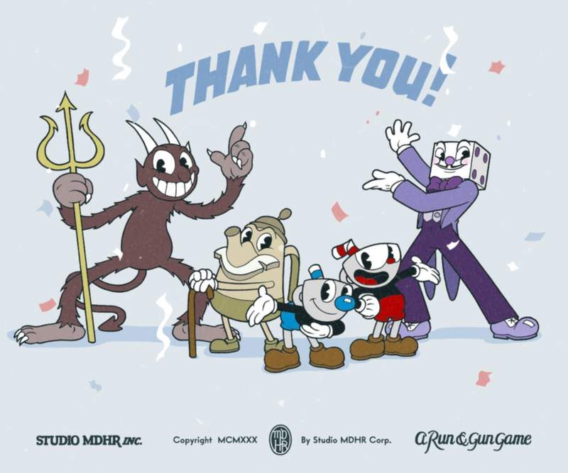 Cuphead Sells Over 1 Million Copies Just After 2 Weeks
