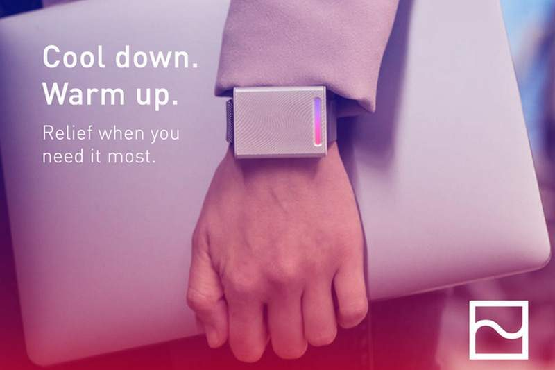 Embry Wave is a Personal Thermostat on Your Wrist
