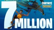 Fortnite Battle Royale Player Count Reaches 7 Million