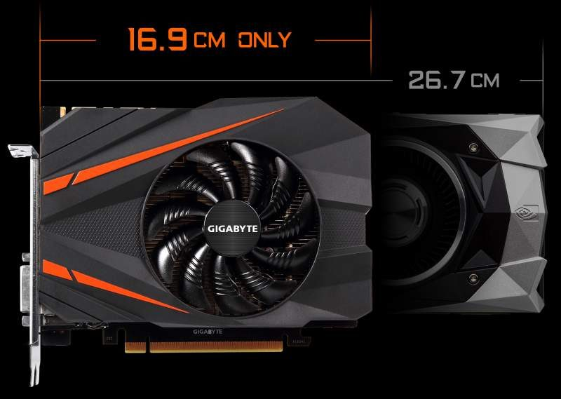 Gigabyte GTX 1080 Mini Now Available in US and UK