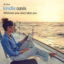 Amazon Announces Kindle Oasis Water-proof e-Reader