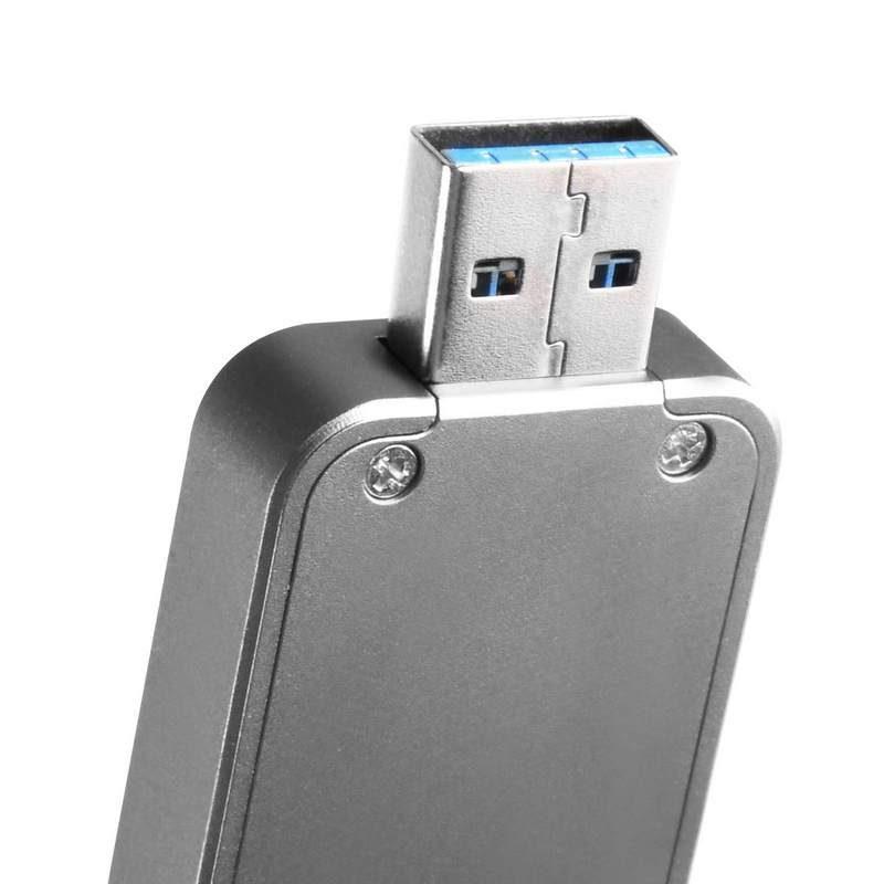 SilverStone Announces MS09 M.2 to USB 3.1 Gen2 Enclosure