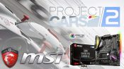MSI UK Bundles Project CARS 2 FREE With Z370 Motherboards