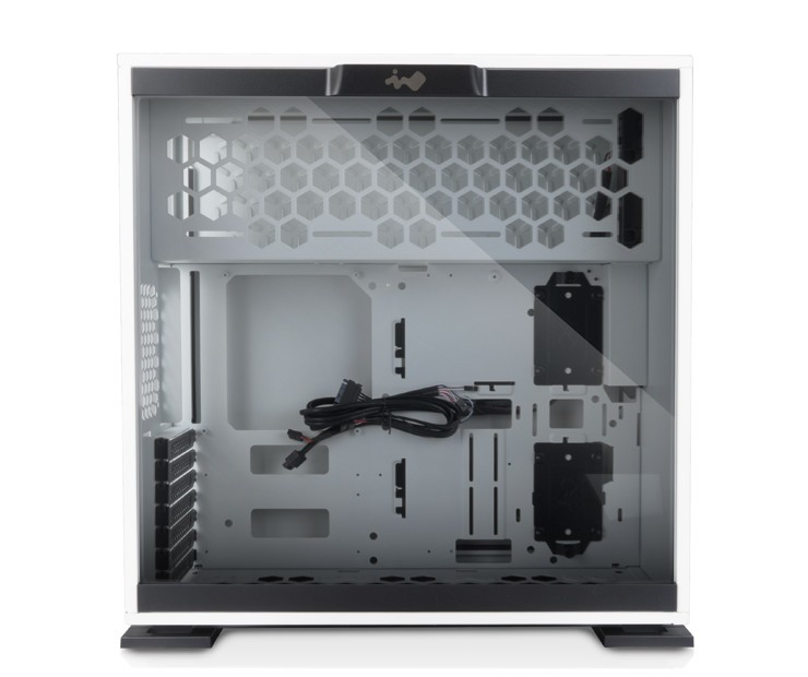 In Win 305 White with Wood Accent Now Available