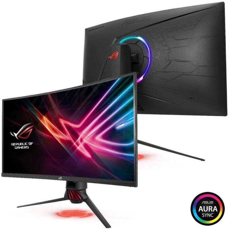ASUS Announces ROG Strix XG32VQ and XG35VQ Monitors