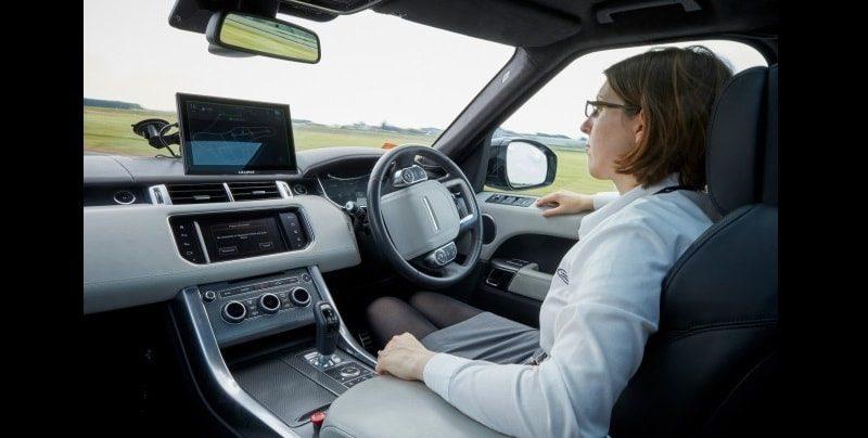 jaguar land rover self driving car