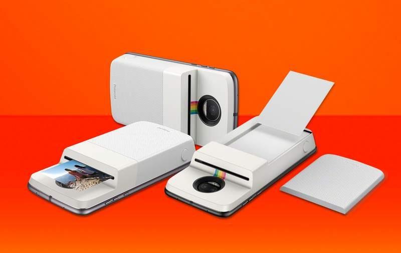 Moto Z Mod Lets Users Print 2x3-inch Polaroid Photos Instantly