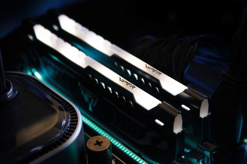Patriot Introduces LED DRAM DDR4 Memory Kit