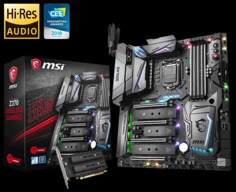 MSI Godlike Gaming Z370 Motherboard Review