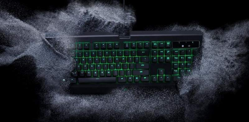 Razer BlackWidow Ultimate Keyboard Now Dust and Spill-Resistant
