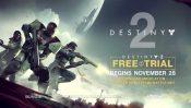 Destiny 2 Begins Offering Free Trial Starting November 28