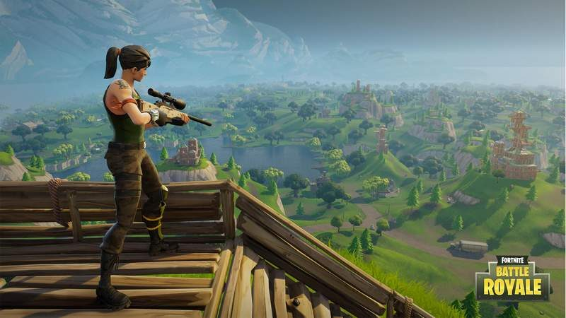 Fortnite Now Supports Xbox One X in 4K