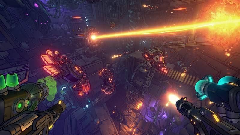 Gunhead, 3D FPS Sequel to 2D Shooter Cryptark Announced
