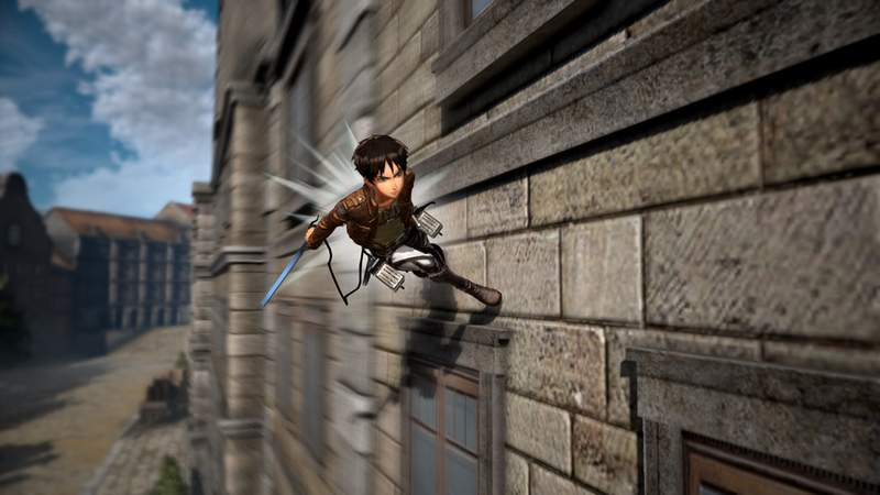 Attack on Titan 2 shows off life beyond slaying naked