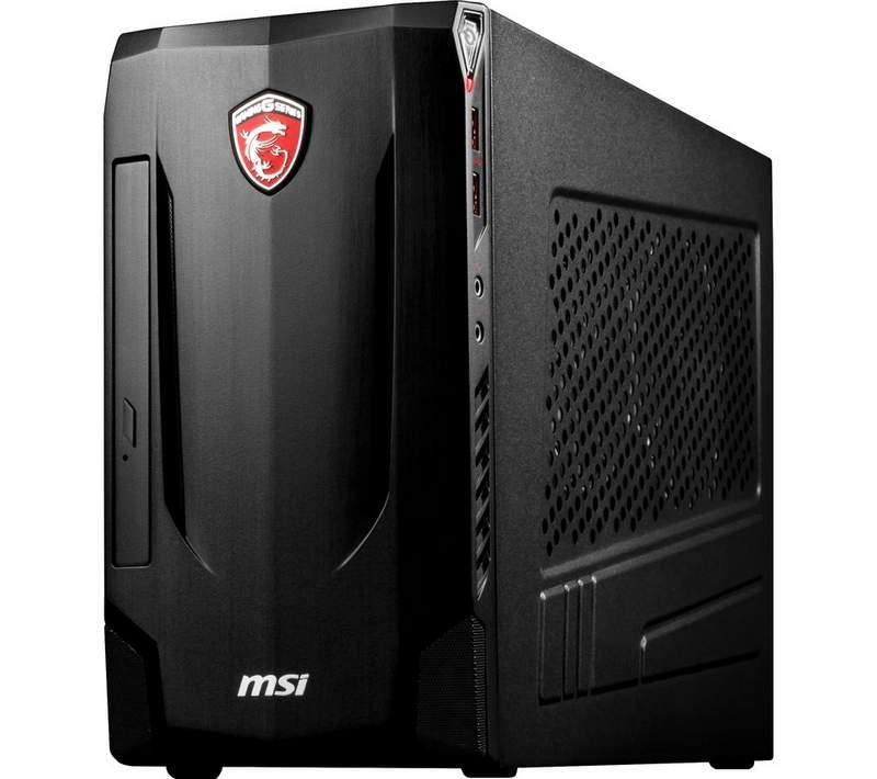Big Savings on Compact MSI Gaming PCs at Curry's PC World