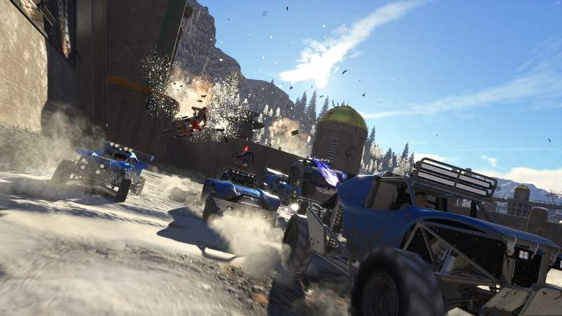 Codemasters Unveils New Arcade Racing Game 'Onrush'