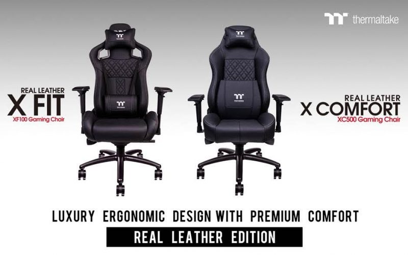Tt eSPORTS Announces 'Real Leather Edition' Gaming Chairs